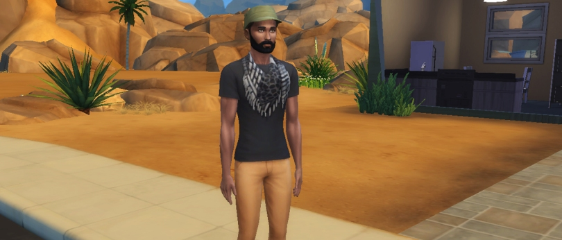 The Sims - Nick Wayne in Episode One